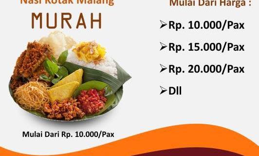 Daftar Harga Nasi Kotak di Malang