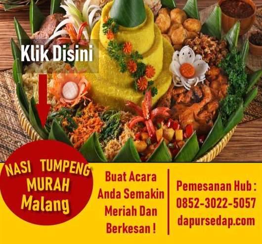 Harga Nasi Tumpeng di Malang